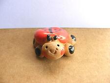 Little Guys Ladybug Miniature Animal Figurine Cindy Pacileo Pottery Wildlife