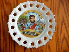 Decorative plate of LUDWIG II, KONIG von BAYERN-BAVARIA