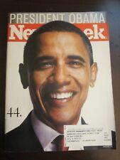 Newsweek Magazine November 2008 President Barack Obama 44