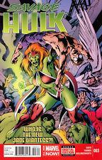 Savage Hulk #3 Unread New Near Mint Marvel 2014 Digital Code Included **16