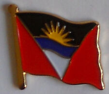 Antigua & Barbuda Country Flag Enamel Pin Badge