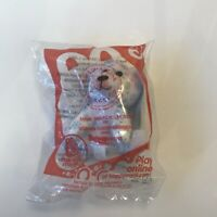 MCDONALD'S HAPPY MEAL TOY BUILD-A-BEAR 2013 Snowy Smiles Polar Bear New in Pack