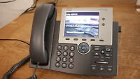 Cisco 7945G IP VoIP Gigabit Telephone Business Phone Color LCD W/ Power Supply