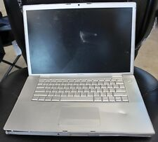 "BROKEN Apple MacBook Pro A1211 15.4"" Laptop - MA610LL/A October, 2006 AS IS"