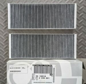 Cabin Pollen Filter Mann Fits BMW Z8, 8 Series's 64312339891 E31 / E52