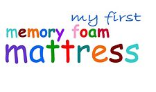 MY FIRST MEMORY FOAM MATTRESS with coolmax 140 x 69 cm cot bed