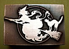 """OLD WITCH""  PRINTING BLOCK."
