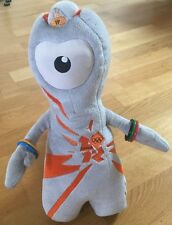 WENLOCK Official mascot of the London Olympics 2012 with tags.