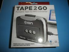 Ion Tape 2 Go Portable Tape-to-Mp3 Converter / Brand New and Boxed /