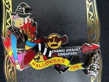 Hard Rock Cafe Changi Airport Singapore Pin Halloween Girl Pin