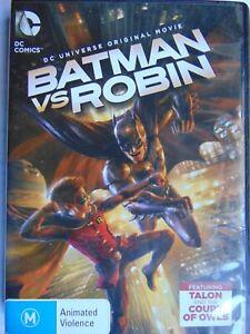 Batman vs Robin - DC Universe Animation - Region 4 DVD - FREE POST