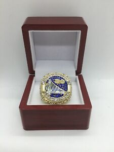 2018 Golden State Warriors Stephen Curry Championship Ring Set With Display Box
