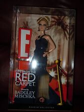 E! Live from the Red Carpet Badgley Mischka  Barbie Doll Pink label . NRFB
