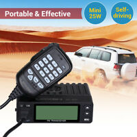 200CH Mini UV-998S Dual Band VHF/UHF Vehicle Car Ham Mobile Radio Walkie Talkie