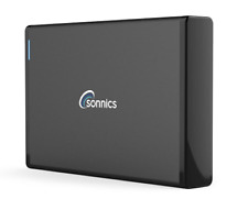 SONNICS 250GB EXTERNAL HARD DRIVE USB 3.0 WINDOWS PC MAC  XBOX 360 SMART TV