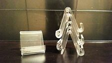 3 Mini Card Display Easel Stands Holders For Price Information description cards