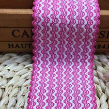 1 yd Elastic Spandex Band Ribbon Lace Trim Wedding Applique Dress Sewing Craft