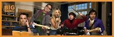 THE BIG BANG THEORY ~ ROCK BAND SLIM 12x36 TV POSTER Jim Parsons Kaley Cuoco