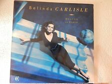 VINYL LP...BELINDA CARLISLE -HEAVEN ON EARTH 1987 MCA REC. MCA-7141