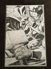 MARVEL COMICS SIEGE #3 EXCLUSIVE THOR 1:300 SKETCH CONNECTING VARIANT EDITION