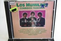 Los Humildes - Corridos Famosos , Music CD (NEW)