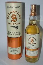 WHISKY SIGNATORY VINTAGE BENRINNES 1999 LIMITED EDITION 14 YEARS OLD 70cl.