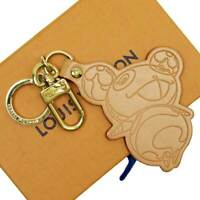 Auth Louis Vuitton Murakami Takashi PORTE CLES PANDA Key Holder M62637 - h23636a