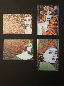 Chuck Sperry Show Card 4 Pack Spoke Art Official Tethys Liberty Dryad Sphinx