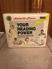Hooked on Phonics Vintage Your Reading Power Audio Cassette Tape Book Set