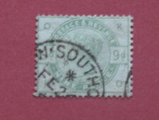Lot #1924 Victoria 1883 9d Green CDS Used SG195