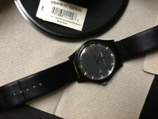 Marc Jacobs Logo Dial Round Black Leather Watch, MBM5013, Excellent Condition.