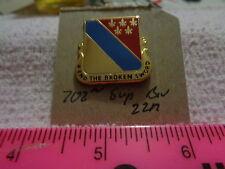 702nd Support Battalion 22M Unit Crest, DI, DUI (DRAW#R14)