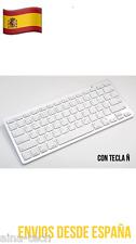 Teclado Bluetooth Válido Tablets Tablet PC Tecla Ñ Español NUEVO!