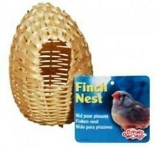 Living World Bamboo Finch Nest Medium 4 inches x 4 inches