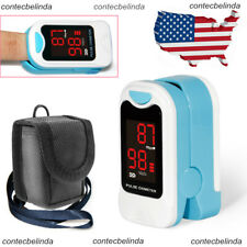 USA Fingertip Pulse Oximeter Blood Oxygen SPO2 Meter Monitor Saturation SPO2 New