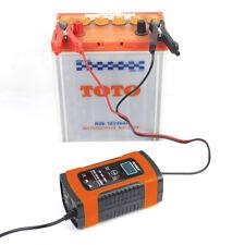 Caricabatterie Batteria 12V Auto Mantenitore con LCD Display per Auto Moto