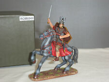 THOMAS GUNN ROM094A ROMAN CAVALRY OFFICER MOUNTED METAL TOY SOLDIER FIGURE