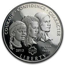 2013-W Girl Scouts $1 Silver Commem Proof (w/Box & COA) - SKU#74963