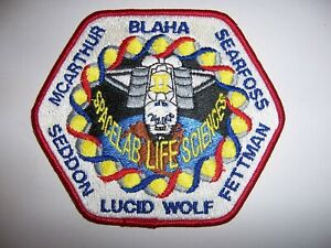 Space Shuttle Columbia STS-58 Spacelab Life Sciences Patch (Oct-Nov 1993)