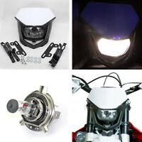 H4 Motorrad Super hell Scheinwerfer Halogenlampe Fahrlicht mit Mount Zubehör 12V