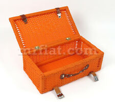Fiat 500 600 Wicker Style Suitcase New