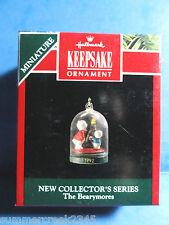 "Hallmark ""The Bearymores"" Miniature Ornament 1992"