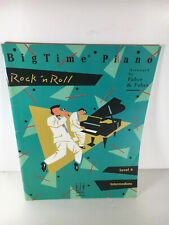New Music Book Songbook Big Time Piano Rock N Roll 37 Pages 13 Songs