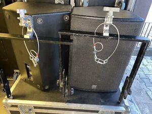"2x HK Audio CN115 15""/1,4"" Fullrange Lautsprecher Box mit Flugbügel"