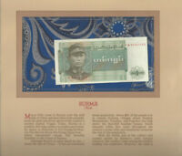 Most Treasured Banknotes Burma 1972 1 Kyat P 56 UNC Prefix FW