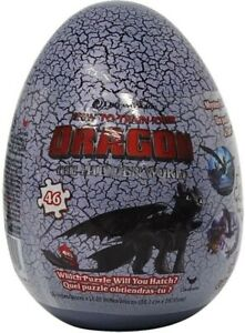 Puzzle Egg: How To Train Your Dragon / Hatchimals