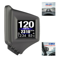 HUD Head Up Display OBD GPS Car Windshield Speed Projector On-board Computer