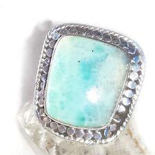 LARIMAR ATLANTIS 1 Ring ECHT 925 Silber Blue Unique Unikat