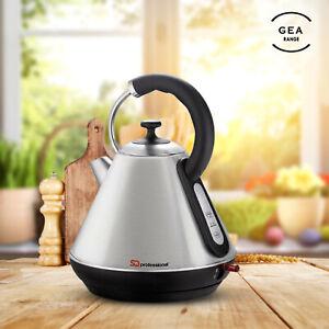 1.8L Premium Electric Cordless Kettle Led Illuminated Boiler Kitchen Tea Coffee