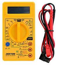 Digital LCD Multimeter Volt meter Ammeter OHM AC DC Circuit Checker Tester Buzz